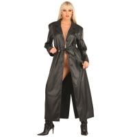 ledapol 790 leder mantel - damen mantel